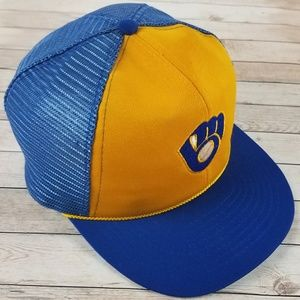 93f09b1db72 World Series FL Marlins   NY Yankees Hat. M 5ae7b888fcdc313f0b2a72c1. Other  Accessories you may like. Vintage 1985 Milwaukee Brewers McDonalds Truck Hat